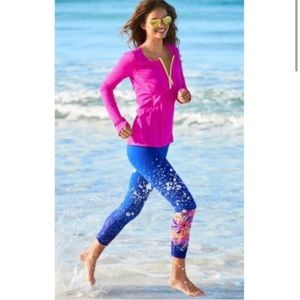 Lilly Pulitzer   Weekender Cropped Leggings